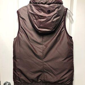 Reversible down vest!